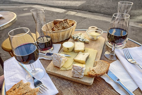 Artisan Wine and Cheese Package