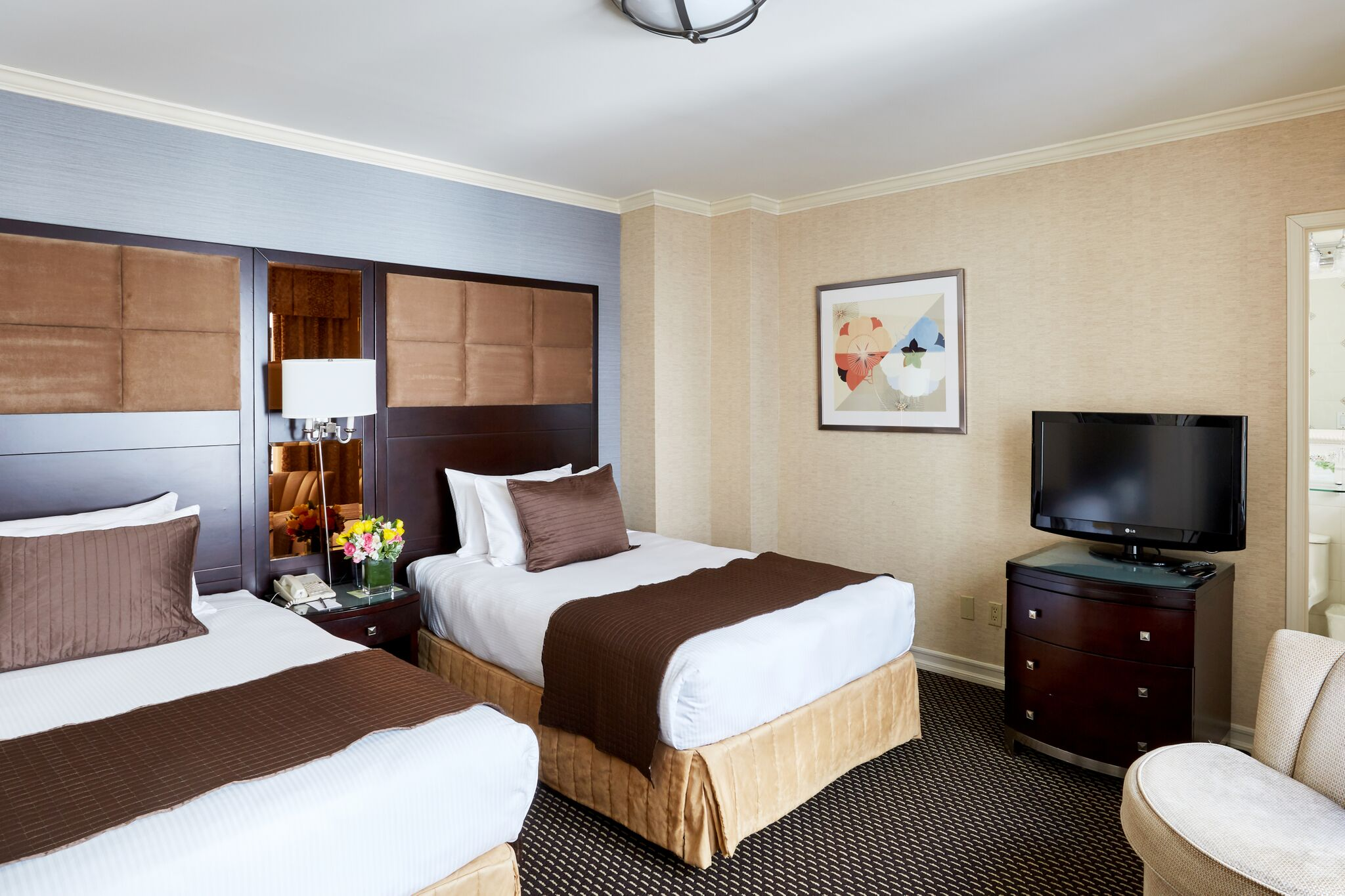 Superior Two Double Beds Jr. Suite