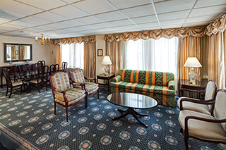 Two Bedroom Large Parlor Suite