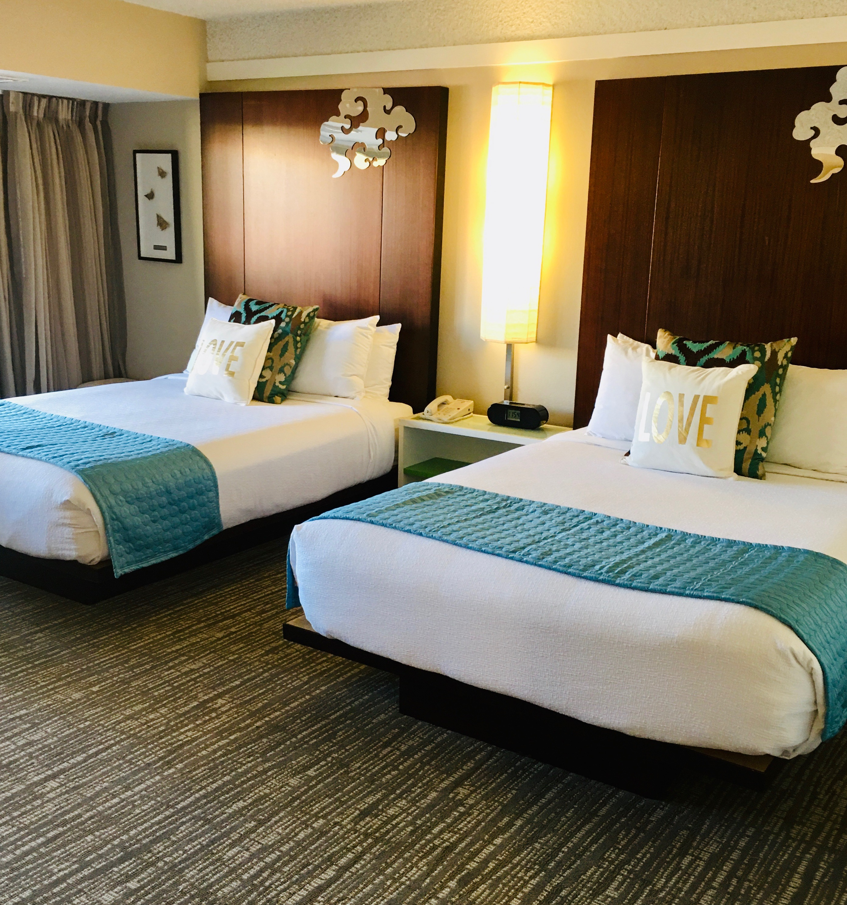 DELUXE DOUBLE BEDS POOL VIEW