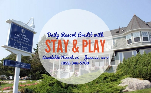 Stay & Play Promotional Rate