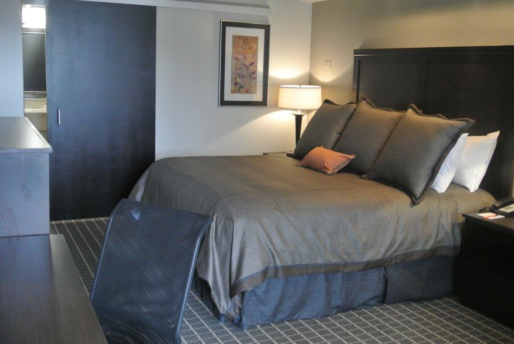 King Handicap Room with Roll-In Shower