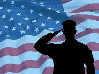 B SALUTED Military and Government Employee Rate