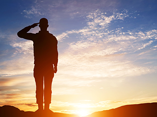 B Saluted Military, Veterans & Government Rate