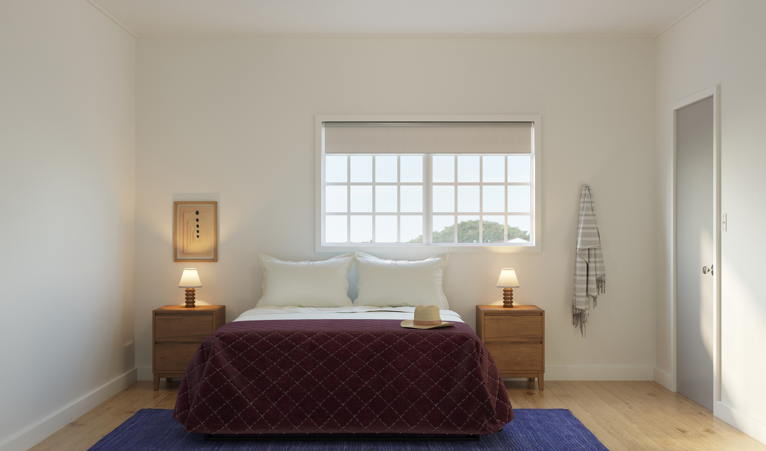 Two Bedroom Suite – One King and One Queen Bed