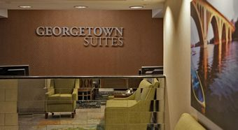 Georgetown Suites Courtyard Building