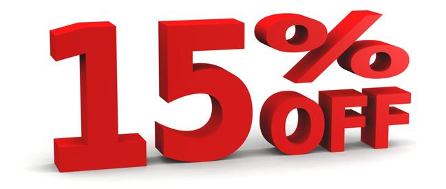 Buy 4 Nights Save 15%