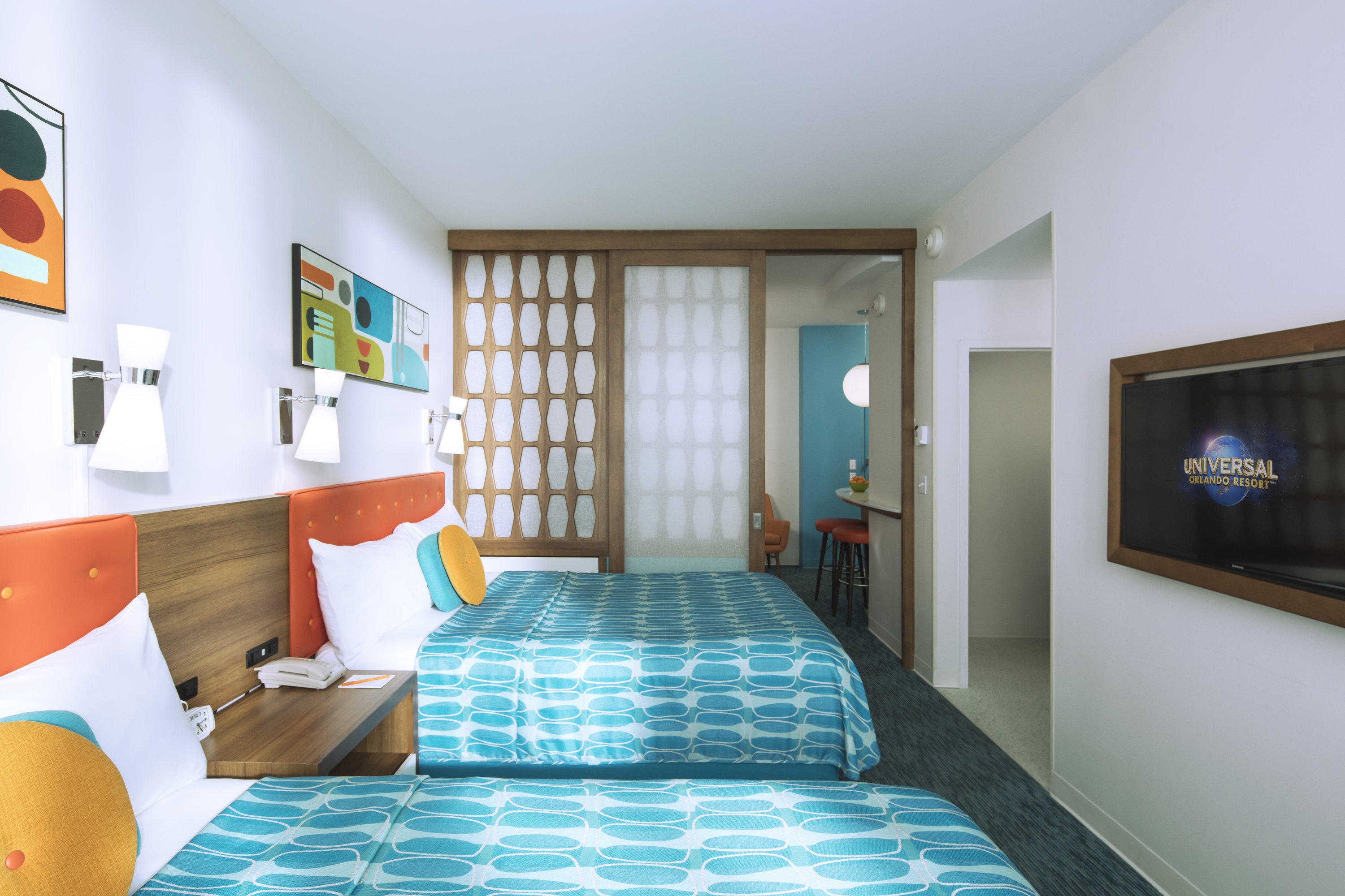 Family Suite – Interior Entry