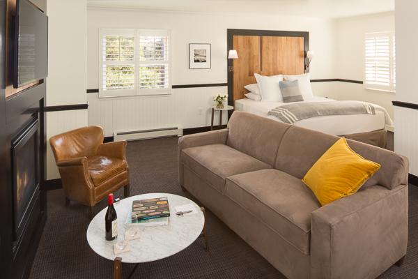 2nd Floor King Room with a Sleeper Sofa